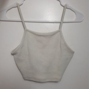 Topshop cropped cami